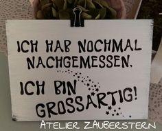 HOLZSCHILDER/HANDARBEIT - atelier-zaubersterns Website! Website, Paper, Quotes, Tobias, Decor, Iris, Boards, Cricut, Wellness