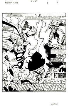 Thor 354 pg1 by Walter Simonson