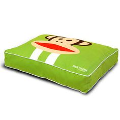 Green.Paul.Frank.Dog.Bed  Fab.com | Paul Frank's Character Invasion