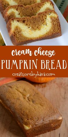 Recipe for Pumpkin Cream Cheese Bread- the cream cheese filling in the middle is heavenly! Recipe for Pumpkin Cream Cheese Bread- the cream cheese filling in the middle is heavenly! Pumpkin Cream Cheese Bread, Pumpkin Loaf, Cream Cheese Recipes, Cream Cheese Filling, Starbucks Pumpkin Bread, Healthy Pumpkin Bread, Nutella Recipes, Banana Bread Recipes, Pumpkin Recipes