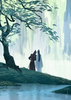 """wratshit: """"More fanart of The Untamed """" Fan Art, Chinese Painting, Chinese Art, Anime Guys, Fantasy Art, Chibi, Anime Art, Sketches, Photos"""