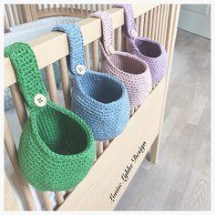 Louise Lykke Design: Free recipe for crochet baby bag Newborn Crochet, Crochet Baby, Knit Crochet, Baby Girl Patterns, Baby Knitting Patterns, Cute Crochet, Crochet For Kids, Drops Design, November Baby