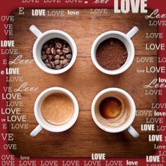 Stages of Coffee love