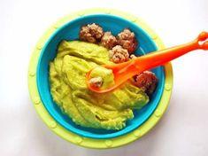 Avocado-Hackbällchen-Für Babys kochen leicht gemacht