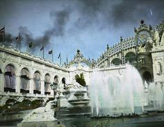 Paris Exposition: Palace of Electricity, Paris, France, 1900, via Flickr.