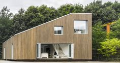 Arcgency have designed the WFH House, a sustainable prefab house in Wuxi, China.