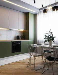 Exceptional modern kitchen room are readily available on our internet site. Check it out and you wont be sorry you did. Home Interior, Kitchen Interior, Interior Design Living Room, Coastal Interior, Eclectic Kitchen, Bohemian Interior, Design Bedroom, Industrial Style Kitchen, Modern Kitchen Design