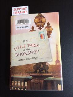 #SFPL #GreatReads #NinaGeorge #TheLittleParisBookshop