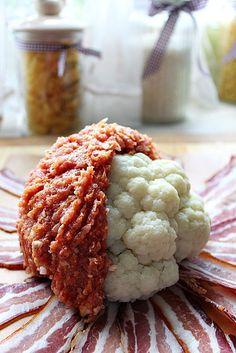 Baconos, húsos karfiol Croatian Recipes, Hungarian Recipes, Yummy Snacks, Yummy Food, Diet Recipes, Cooking Recipes, Food 52, Food And Drink, Easy Meals