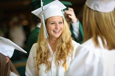 Libby Campbell chats with friends in the cafeteria before going into the graduation ceremony at Hopkinton High School Friday evening. Campbell will be attending the University of Vermont in the Fall. Photo Class, Vermont, Feng Shui, High School, University, Friday, Friends, Photography, Home