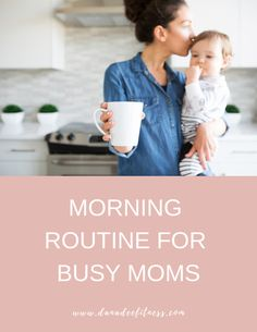 morning routine for busy moms. set your day up for success with this step by step list Morning Routine Checklist, Positive Quotes For Women, Busy Life, Self Care Routine, Health And Fitness Tips, Day Up, Eat Healthy, Time Management, Have Time