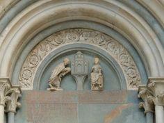 Benedetto Antelami - Sant'Andrea (Vercelli) - Romanesque portals.