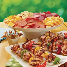Grilled Teriyaki Kabobs, using pork tenderloin, are great for entertaining.