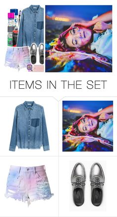 """""""(ROXY) COLOR ME RAD COLOR ME COLOR ME"""" by chxshire-cat ❤ liked on Polyvore featuring art"""