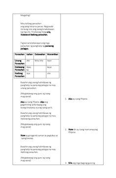 Masusing Banghay Aralin sa Filipino (Detailed lesson plan in Filipino… 4a's Lesson Plan, Lesson Plan Examples, The Plan, How To Plan, Lesson Plan In Filipino, Science Trivia, Math Lessons, Grade 1, Lp