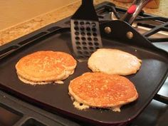 Night-Before Oatmeal Apple Pancakes #Recipe | Carefree Cooking Magazine