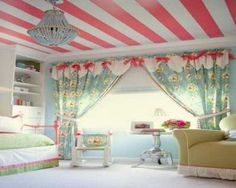Pink Ceiling Paint Ideas