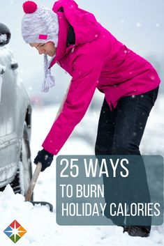 Burn Off Holiday Calories! You can burn off the holiday calories by doing things you already do anyway! | via @SparkPeople
