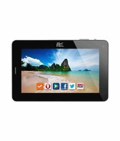 Hcl ME Tab V2 Connect 2G Tablet (WiFi, 3G via Dongle, Voice Calling), Silver