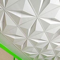 Tessellated ceiling tiles - the ceiling doesn't have to be boring