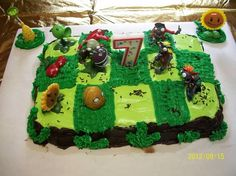7th birthday party cake