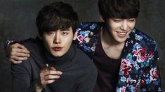 "Lee Jong Suk and Kim Woo Bin ""Best Friends Forever"""