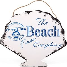 Wholesale The beach fixes nautical plaque - Something Different
