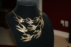 Birds of a Feather Necklace - This is one is the cream of the crop.  Come visit us at ceesquared.ca .  This one is gorgeous.