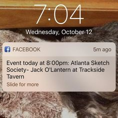 Got here early. Who's coming out to sketch tonight? #atlsketchsociety