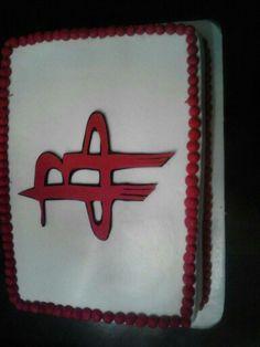 Rockets cake. Very nice!  Deb's