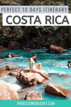 This 10 Days in Costa Rica itinerary offers a little bit of everything from beach to jungle for First Time Visitors #costarica #itinerary Honduras, Travel Guides, Travel Tips, Travel Destinations, Budget Travel, Hiking Photography, Equador, South America Travel, North America