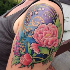 Ideas for my sleeve: Art nouveau inspired tattoo