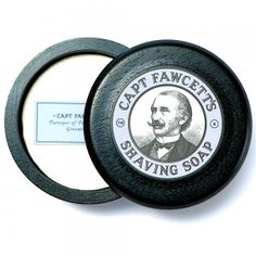 Captain Fawcett's preferred Shaving Soap, which helped him through many a close shave has been lovingly recreated and is now available for the first time in over a century. Wet Brush, Shaving Brush, Shaving Soap, Fawcett, Soap Supplies, Black Bowl, Close Shave, Great Gifts For Men, Just A Reminder