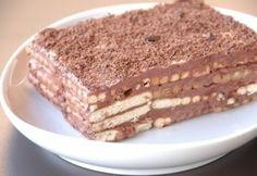 Keksszel süteményt sütni nem újdonság, viszont újra és újra szeretjük elővenni ezeket a recepteket. Ti melyikre szavaztok? Hungarian Recipes, Hungarian Food, Burlap Crafts, Chocolate, Nutella, Tiramisu, Rum, Dessert Recipes, Food And Drink