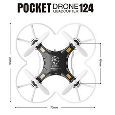 Neecooler FQ777 124 Micro Pocket Drone 4CH 6Axis Gyro With Switchable Controller Mini quadcopter RTF RC helicopter Kids Toys FQ777-124 Black - http://www.midronepro.com/producto/neecooler-fq777-124-micro-pocket-drone-4ch-6axis-gyro-with-switchable-controller-mini-quadcopter-rtf-rc-helicopter-kids-toys-fq777-124-black/