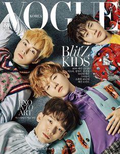 EXO en portada doble para Vogue Korea por Young Kyu Yoo