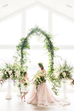Midsummers Night Dream themed wedding ideas