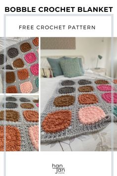 Bursting with colour, texture and cozy fun, the Super Alexa Blanket is a must make blanket everyone will enjoy. The modern, chunky crochet blanket is soft, comfy, quick to make and has endless colour options to suit your style. Constructed with 20 matching square motifs, which are crocheted together and then framed with a post stitch border. With a free video tutorial. #chunkycrochetblanket #chunkycrochet #quickcrochet Quick Crochet Patterns, Crochet Blanket Patterns, Crochet Stitches, Free Crochet, Crochet Blankets, Chunky Crochet, Chunky Yarn, Make Blanket, Learn To Crochet