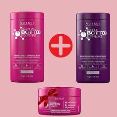 Buy Hair Botox Kit (Brazilian & Blonde Bottox Expert 33.8 fl.oz) and get FREE Brazilian Bottox Expert 8.8 oz. Only until February 18. www.nutreecosmetics.com#nutreeprofessional #bottoxexpert #hairstyle #goodbyefrizz #hairbotox #hairbotoxtreatment #nutreeusa #haitbotoxmiami #brazilianhair #antifrizz #smoothingsystem #smoothhair #shinyhair #healthyhair #globalkeratin #bottox #hair #straighthair #botox #hairtreatment #haircare #nofrizz #smoothingtreatment #beforeandafter #brazilianbottox…