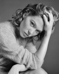 sylviagetyourheadouttheoven:  Léa Seydoux - Marie Claire France - November 2015