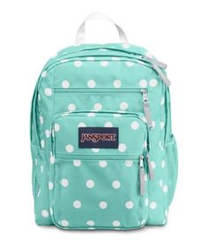 JanSport Big Student Aqua Dash Zou Bisou ($46) ❤ liked on ...