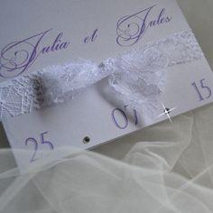 Faire-part JULIA & JULES - Collection Rêve Letter Press