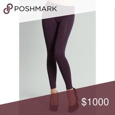 5⭐️ Deep Purple Full Length Leggings Deep Purple Full Length Leggings Material: 92% Nylon 8% Spandex. Perfect for Fall to match back with any of our Boho Dresses. Made in USA No Trades. Price is firm unless bundled. 10% off 2 or more items or 15% 3 or more items. GlamVault Pants Leggings