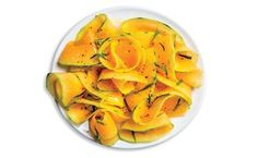 Savory Shaved Cantaloupe Salad recipe: Try this Savory Shaved Cantaloupe Salad recipe, or contribute your own. Melon Recipes, Summer Salad Recipes, Fruit Salad Recipes, Summer Salads, Veggie Recipes, Fruit Salads, Summer Food, Quinoa Fruit Salad, Radish Recipes