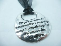 Hey, I found this really awesome Etsy listing at https://www.etsy.com/listing/154590695/serenity-prayer-pendant-necklace-great