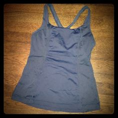 Lululemon Get Fit Tank Made for running or yoga. Great material for hot yoga! lululemon athletica Tops Tank Tops