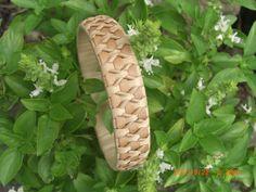 Hawaiian Bracelet Traditionally Woven from Lauhala by UlanaLauhala, $22.00