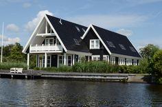 Riante woning aan het water op Waterpark Yn'e Lijte in Grou!
