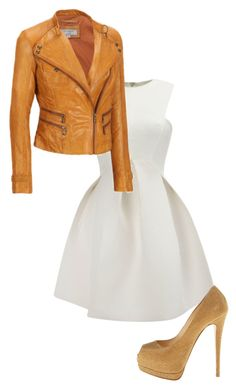 """""""..."""" by bellacasaily ❤ liked on Polyvore featuring Giuseppe Zanotti and Andrew Marc"""
