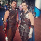[Self] Thor and Valkyrie from Thor Ragnarok